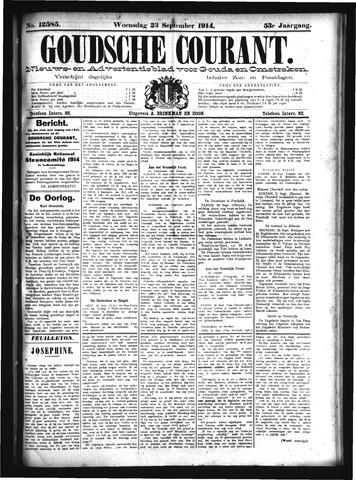 Goudsche Courant 1914-09-23