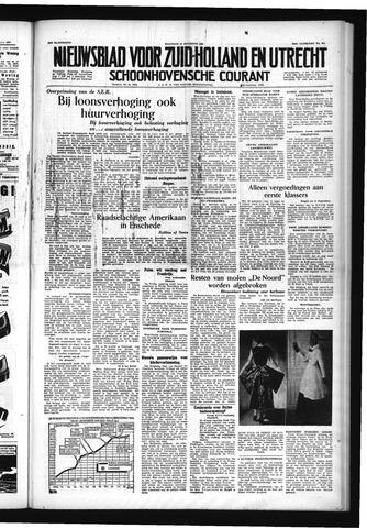 Schoonhovensche Courant 1954-08-30