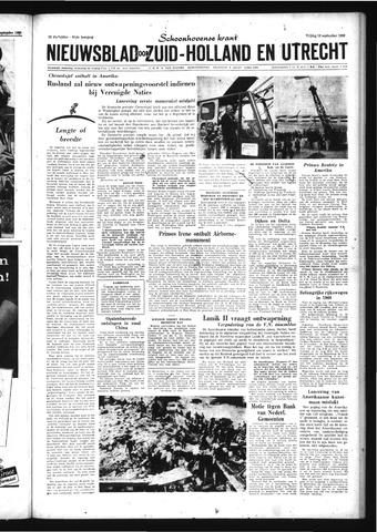 Schoonhovensche Courant 1959-09-18