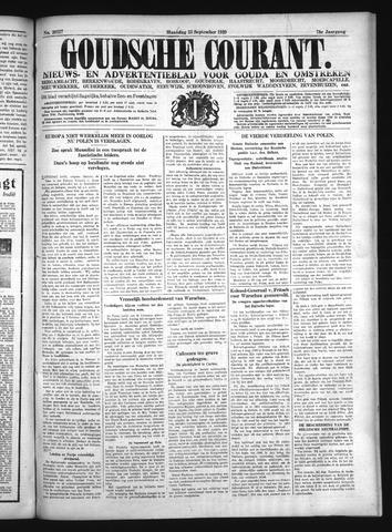 Goudsche Courant 1939-09-25