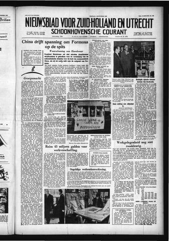 Schoonhovensche Courant 1958-09-05