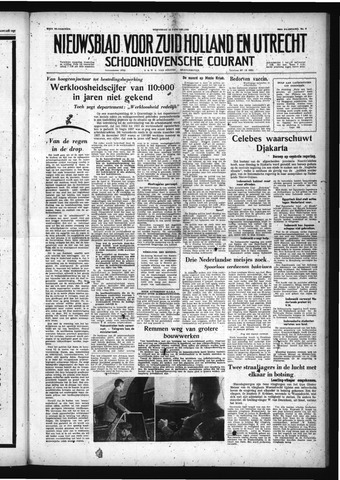 Schoonhovensche Courant 1958-01-15