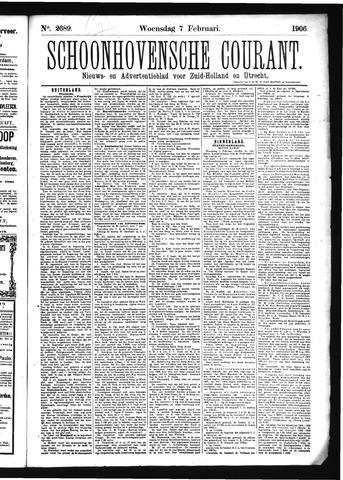 Schoonhovensche Courant 1906-02-07