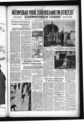 Schoonhovensche Courant 1955-10-31