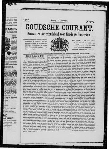Goudsche Courant 1870-11-27