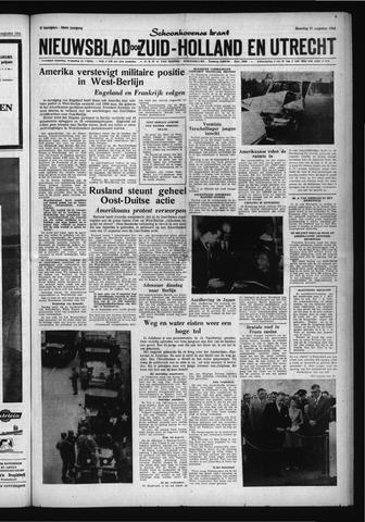 Schoonhovensche Courant 1961-08-21