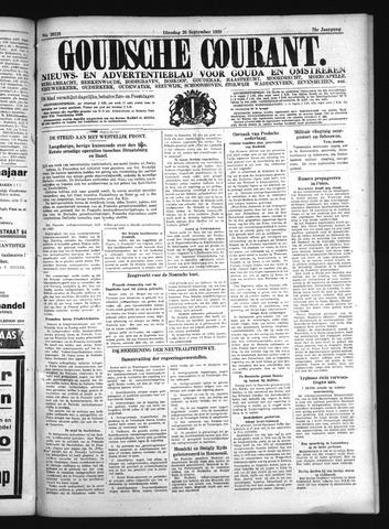 Goudsche Courant 1939-09-26