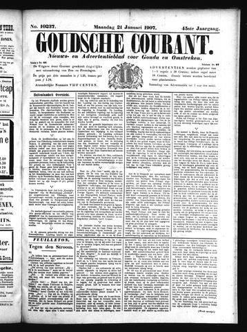 Goudsche Courant 1907-01-21