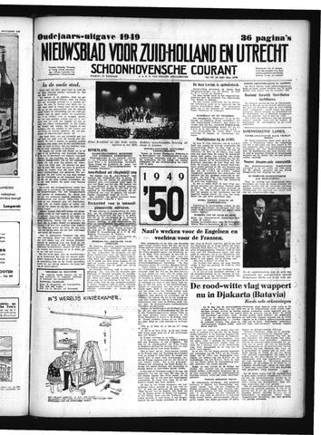 Schoonhovensche Courant 1949-12-30