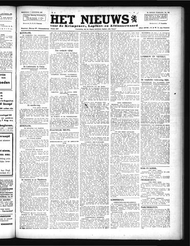 Schoonhovensche Courant 1946-08-07