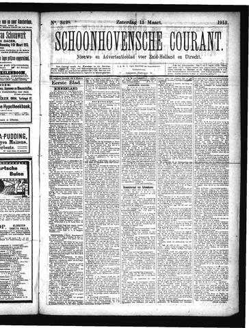 Schoonhovensche Courant 1913-03-15