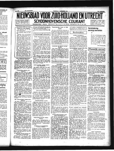 Schoonhovensche Courant 1941-09-03