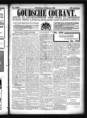 Goudsche Courant 1931-02-12