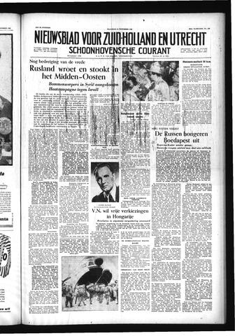 Schoonhovensche Courant 1956-11-12
