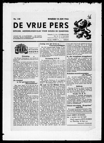 De Vrije Pers 1945-06-12