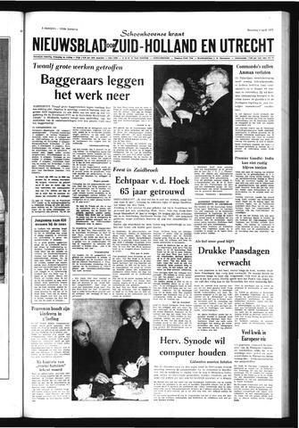 Schoonhovensche Courant 1971-04-05
