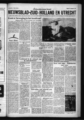 Schoonhovensche Courant 1960-09-30
