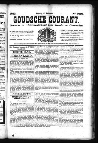 Goudsche Courant 1892-12-12