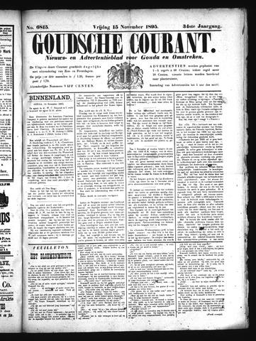 Goudsche Courant 1895-11-15