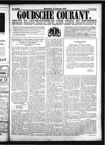 Goudsche Courant 1937-01-11