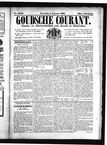 Goudsche Courant 1895-01-05