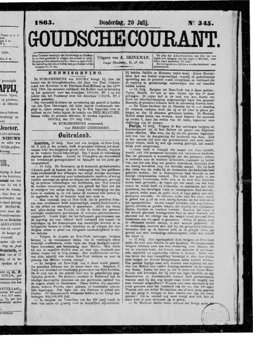 Goudsche Courant 1865-07-20