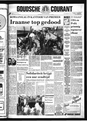 Goudsche Courant 1981-08-31