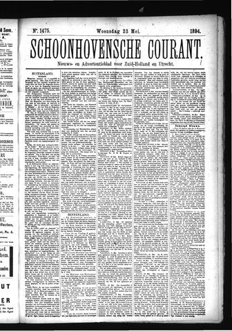 Schoonhovensche Courant 1894-05-23
