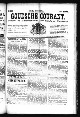 Goudsche Courant 1892-11-19