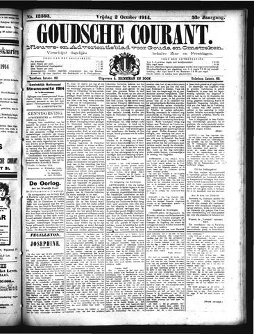 Goudsche Courant 1914-10-02