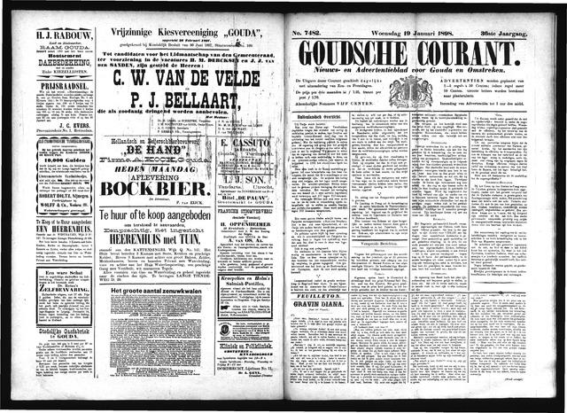 Goudsche Courant 1898-01-19
