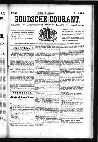 Goudsche Courant 1892-08-19