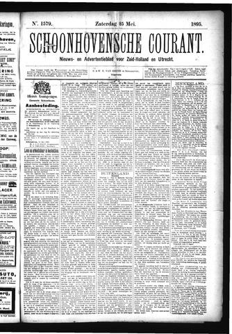 Schoonhovensche Courant 1895-05-25