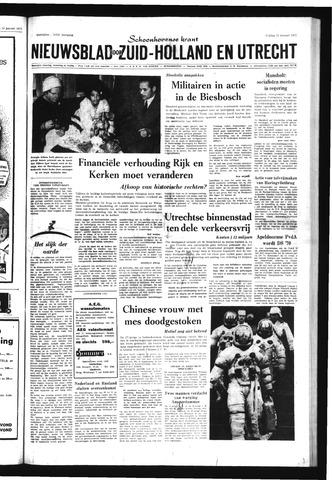 Schoonhovensche Courant 1971-01-22