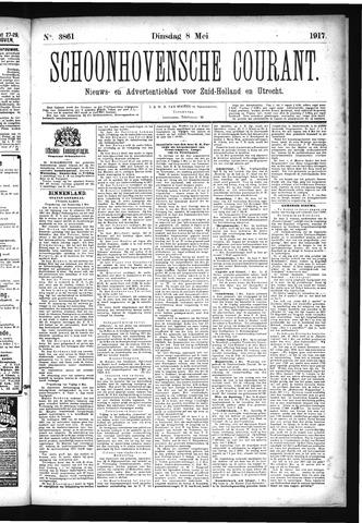 Schoonhovensche Courant 1917-05-08