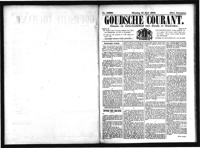 Goudsche Courant 1909-06-15
