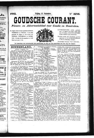 Goudsche Courant 1885-09-11