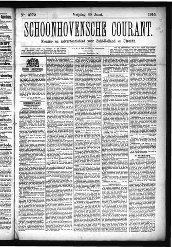 Schoonhovensche Courant 1916-06-30