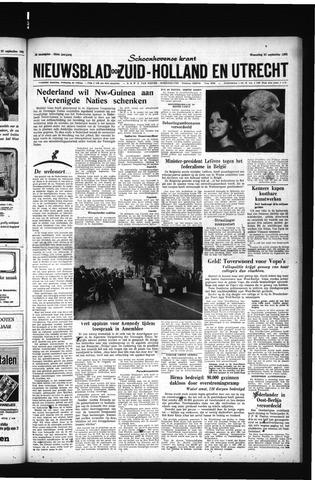 Schoonhovensche Courant 1961-09-27
