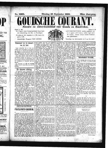 Goudsche Courant 1900-09-25