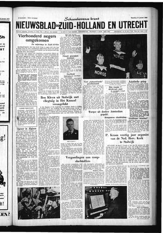 Schoonhovensche Courant 1960-01-25