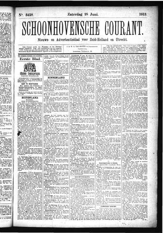 Schoonhovensche Courant 1913-06-28