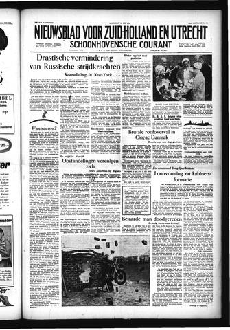 Schoonhovensche Courant 1956-05-16