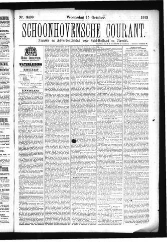 Schoonhovensche Courant 1913-10-15