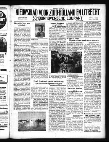 Schoonhovensche Courant 1950-10-13