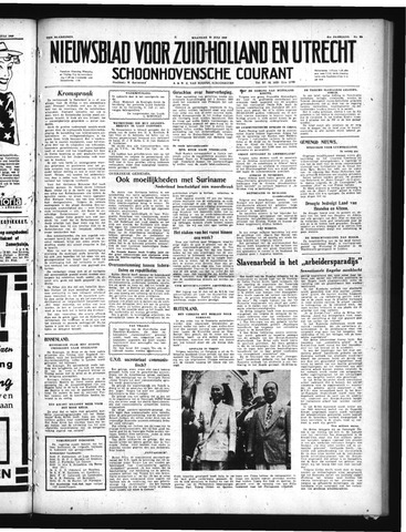 Schoonhovensche Courant 1949-07-25