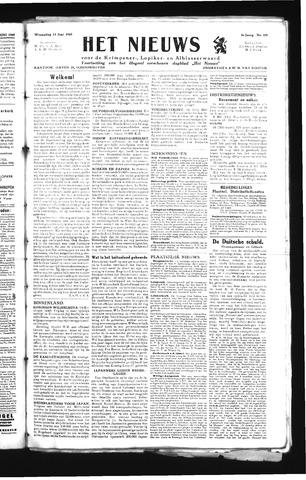 Schoonhovensche Courant 1945-06-13