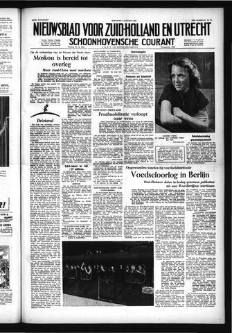 Schoonhovensche Courant 1953-08-05