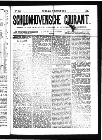 Schoonhovensche Courant 1875-12-05