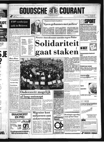 Goudsche Courant 1982-10-11